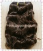 "10""100g #3 Color Natural Wave Indian Virgin Hair Weft"
