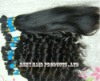 "10""-30"" 100% virgin remy human bulk braiding hair silky straight"