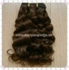 "10"" Deep Curl Brazilian Hair Machine Made Hair Extension"