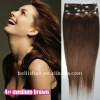 100% Human Remy Hair Clip In Hair Extensions Wholesale