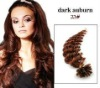 100% Indian remy virgin hair U tip hair extension AAA