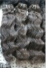 100%Indian virgin remy human hair extension no mix