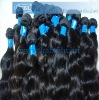 100% Pure Natural Brazilian remy hair wavy in stock