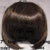 100% Remy Human Hair Bangs, Women's Fringe