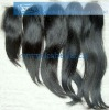 100% Top closure hair wave with factory price