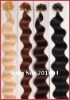 100% best quality remy human hair nail hair extension 20""