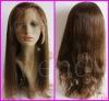 100%brazilian human hair full lace wig