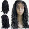 100% brazilian human hair lace front wig