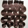 100% european human hair with many colors in stock