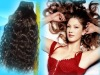 100% high quality brazilian virgin human hair extension, hair weft 18""