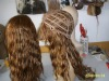 100% human chinese hair full lace wig