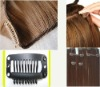100% human hair / Clip-in hair extension