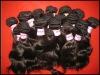 100% human hair brazilian remy weaving