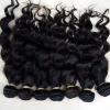 100% human hair curly mongolian hair natural remy virgin