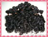 100% human hair extension weft