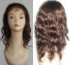 100% human hair full hand-tied lace wigs