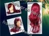 100% human hair full lace wigs hot red for beautiful girl ! !