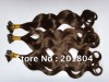 "100% human hair stick hair extension18"" i-TIP hair extension 1B#"