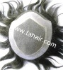 100% human hair toupee hair piece hair replacement