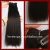 100%human hair weft no shedding