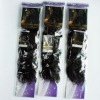 100%human hair weft with good package brazilian hair