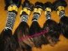 100% human remy hair weft/ machine weft