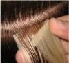 100%human skin weft hair /pu weft hair /remy hair extension