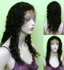 100% human virgin indian remy full lace wig