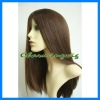 100%human virgin remy hair silk top full lace wig