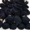 100% indian human hair natural virgin indian hair weft