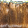 100% loose human hair bulk extension