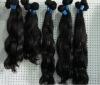 100% mongolian human hair weft