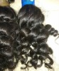 100% natural brazilian deep wave virgin hair machine weft