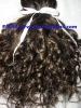 100% natural human hair machine weft