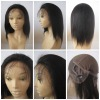 100% premium indian remy human hair glueless full lace wigs