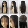 100% premium indian remy human hair silk top lace wigs