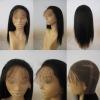 100% premium virgin remy human hair full lace wigs