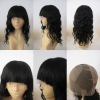 100% premium virgin remy human hair silk top full lace wigs