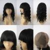 100% premium virgin remy human hair silk top full lace wigs