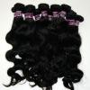 100% pure unprocessed virgin malaysian black hair