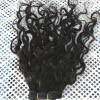 100% real human hair weft in stock