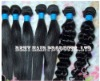 100% remy Brazilian virgin human hair weft extensions weft hair silky straight natural black 100g/pcs any length