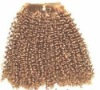 100% remy Indian hair weft fashion style afro wave