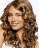 100% remy wig human hair curly full lace wigs
