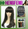 100% synthetic hair black lace front wig