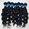 100% unprocessed wavy brazilian virgin hair in stock