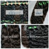 100% virgin brazilian hair 100g/pcs