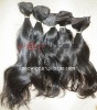 100% virgin indian hair wefts