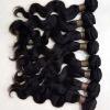 100% virgin peruvian hair weft body wave ,touch soft