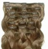 100% virgin remy clips in hair extensions